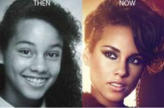 Alicia Keys Nose Job Photo