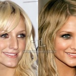 Ashlee Simpson Before and After