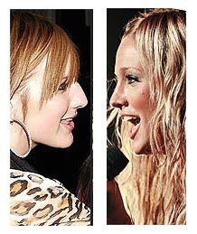 Ashlee Simpson's Nose Job After and Before