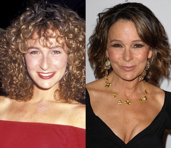 Jennifer Grey's nose job