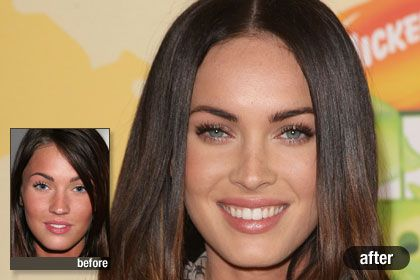 Megan Fox, Best Celebrity Nose Job