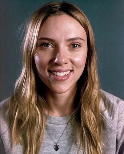 Scarlett Johansson, before her nose job