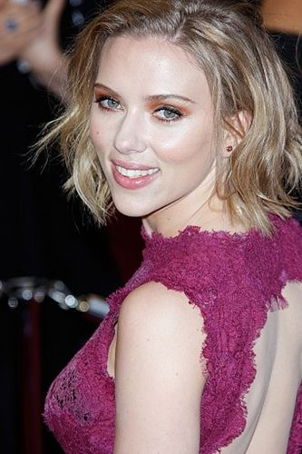 Scarlett Johansson, have perfect noses