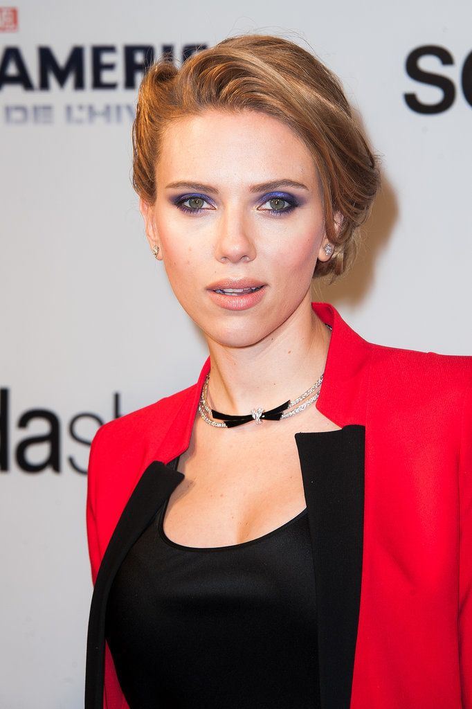 Scarlett Johansson's Nose Job After Photos