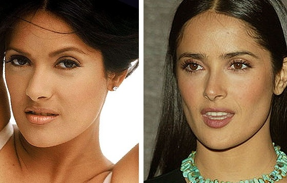 salma-hayek perfect new nose