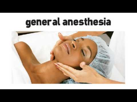 General Anesthesia for Rhinoplasty Surgery