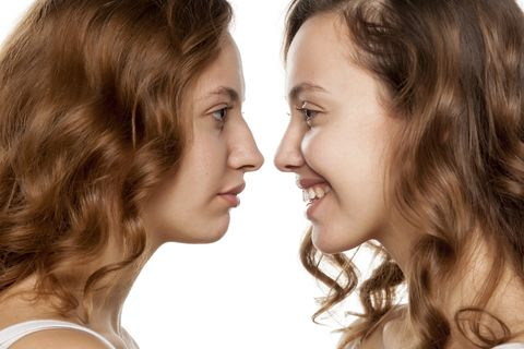 Revision rhinoplasty for happiness of nose appearance