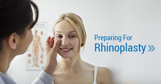 Preparing for rhinoplasty