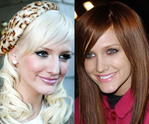 Ashlee Simpson Nose Job After and Before