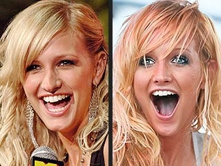 Ashlee Simpson Nose Job Before and After