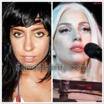 Lady Gaga Plastic Surgery Before and After Nose Job