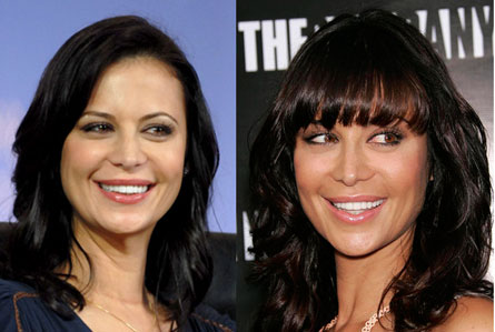 catherine bell nose job
